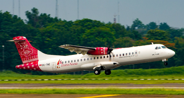 TransNusa ATR 72-600 - by ATR