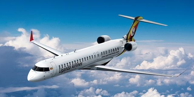 Uganda Airliners CRJ900