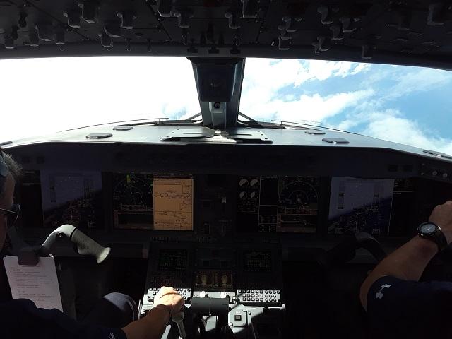 E190-E2 over Florida 082218