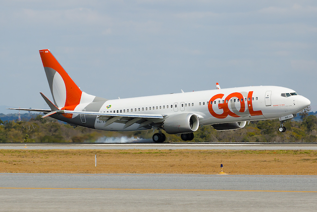 Gol first 737 Max 8