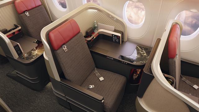 LATAM business class seat single