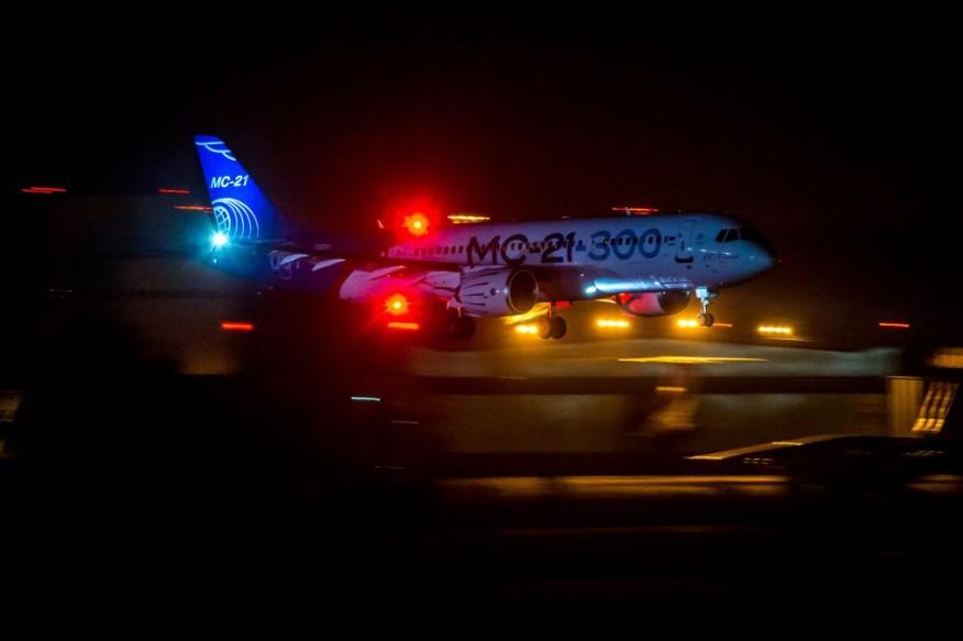 MC-21 night landing
