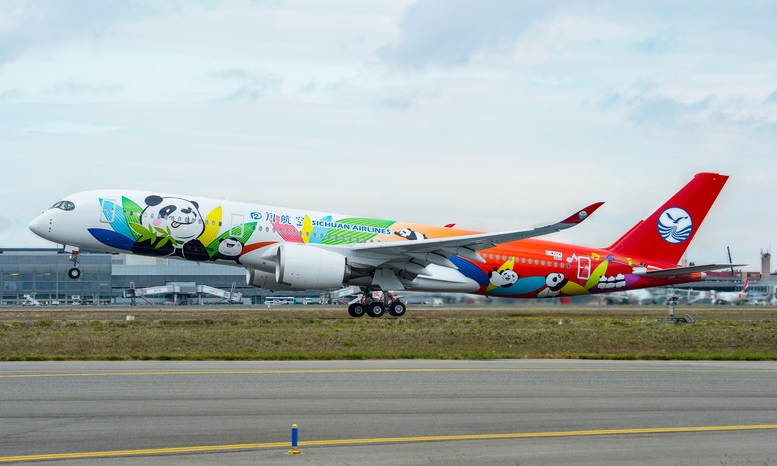 Sichuan Airlines A350-900