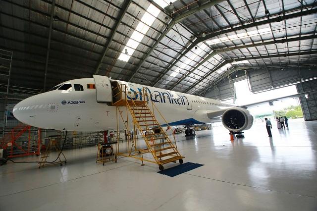 SriLankan final A320neo delivery