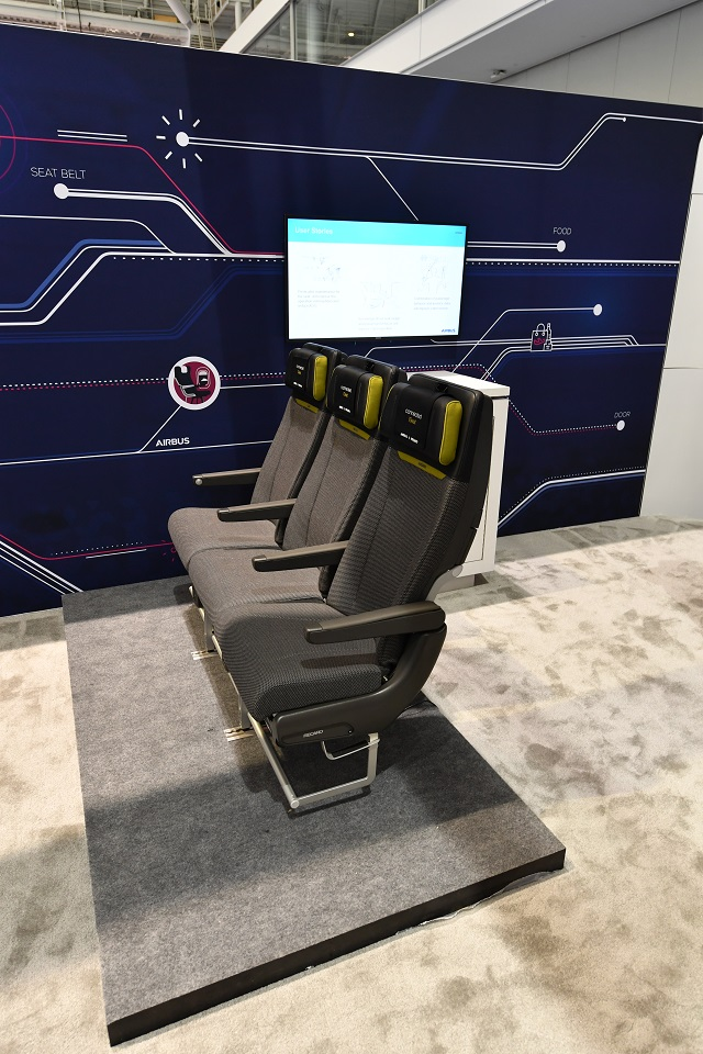 Airbus connected seats APEX