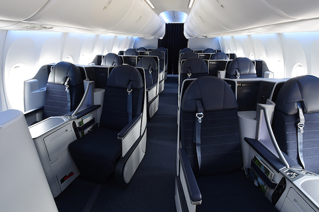 Copa 737 Max 9 business class