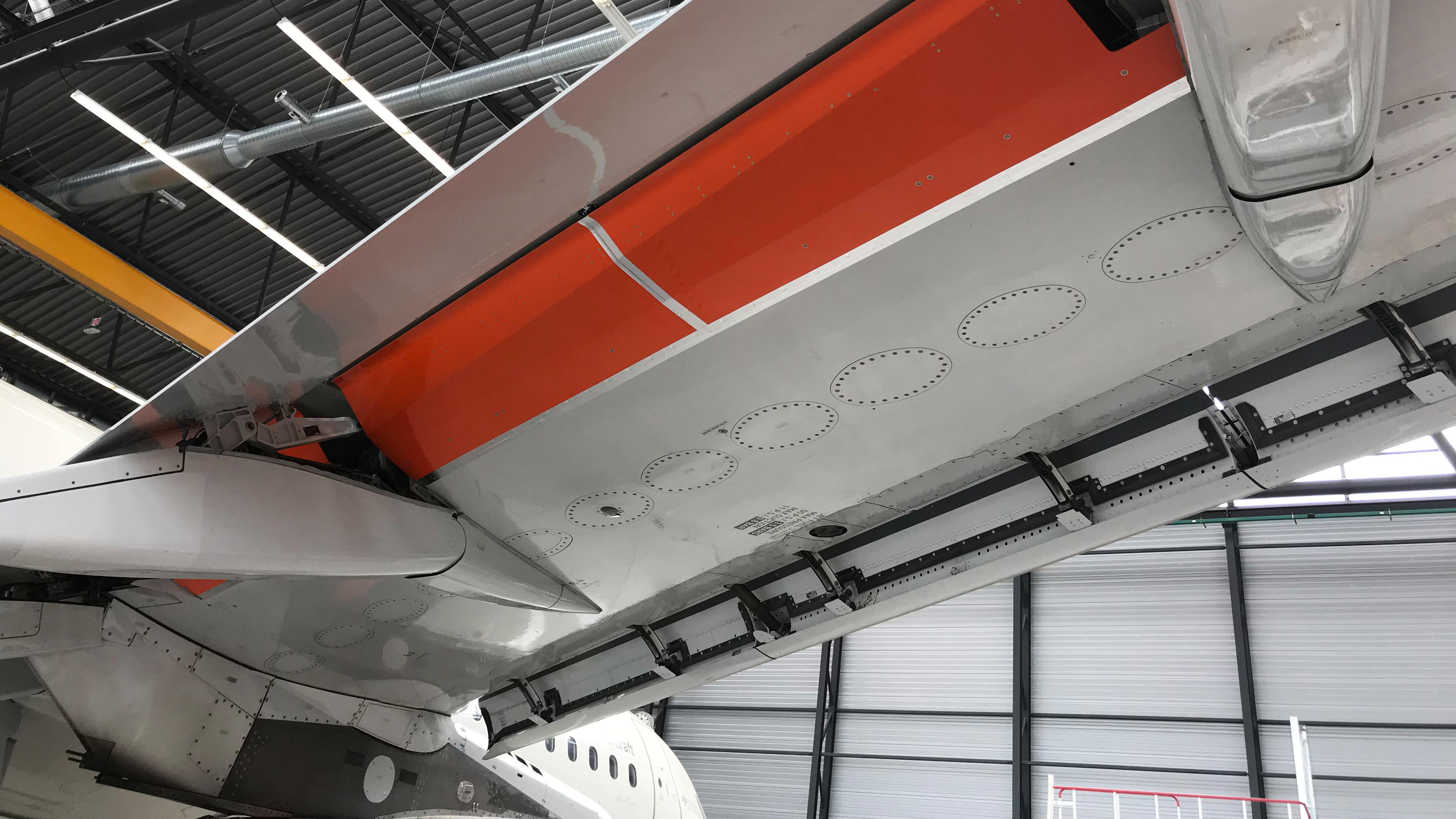 DLR A320 wing mod