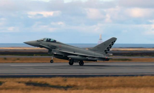 Eurofighter Keflavik - Italian air force