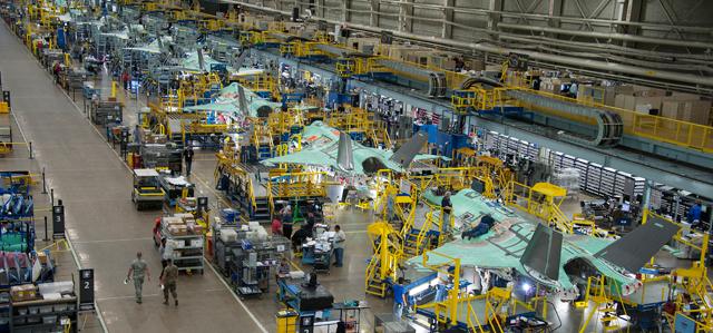 F-35 factory