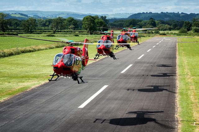 H145 light-twin air ambulance