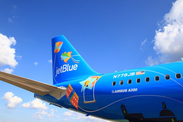 JetBlue Puerto Rico A320