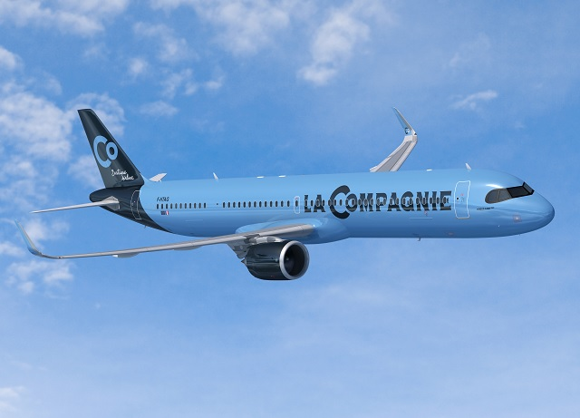 La Compagnie A321neo rendering-1 640px