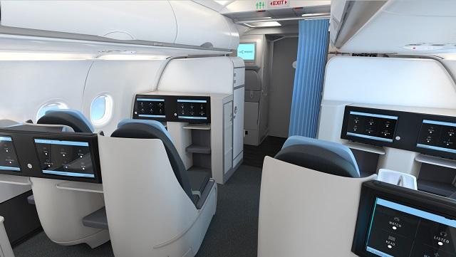 La Compagnie A321neo seats-1 640px