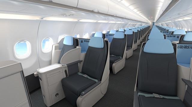 La Compagnie A321neo seats-2 640px