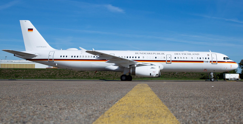 Luftwaffe A321 VIP