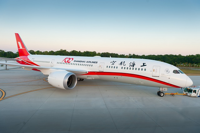 Shanghai Airlines first 787-9