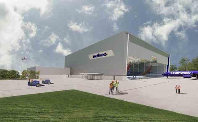 Southwest Baltimore/Washington hangar