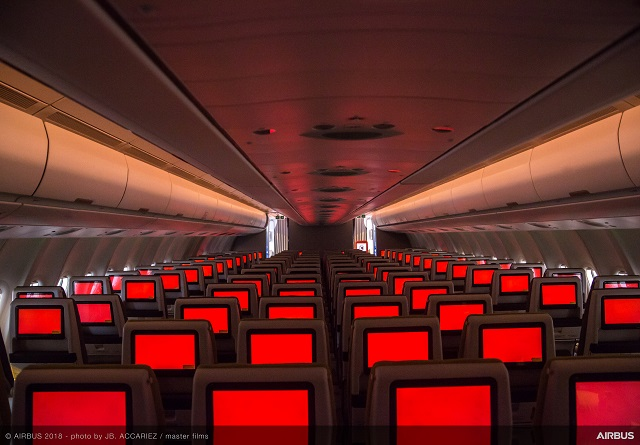 TAP A330-900neo Airspace cabin. Airbus. 640px