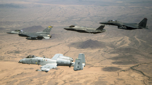US Air Force fighters - USAF
