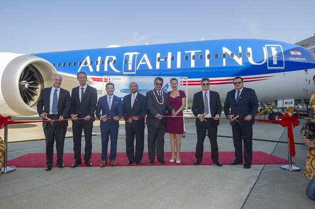 Air Tahiti Nui first 787