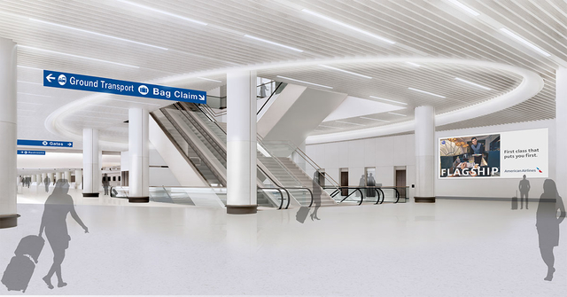 American Airlines LAX renovation 3