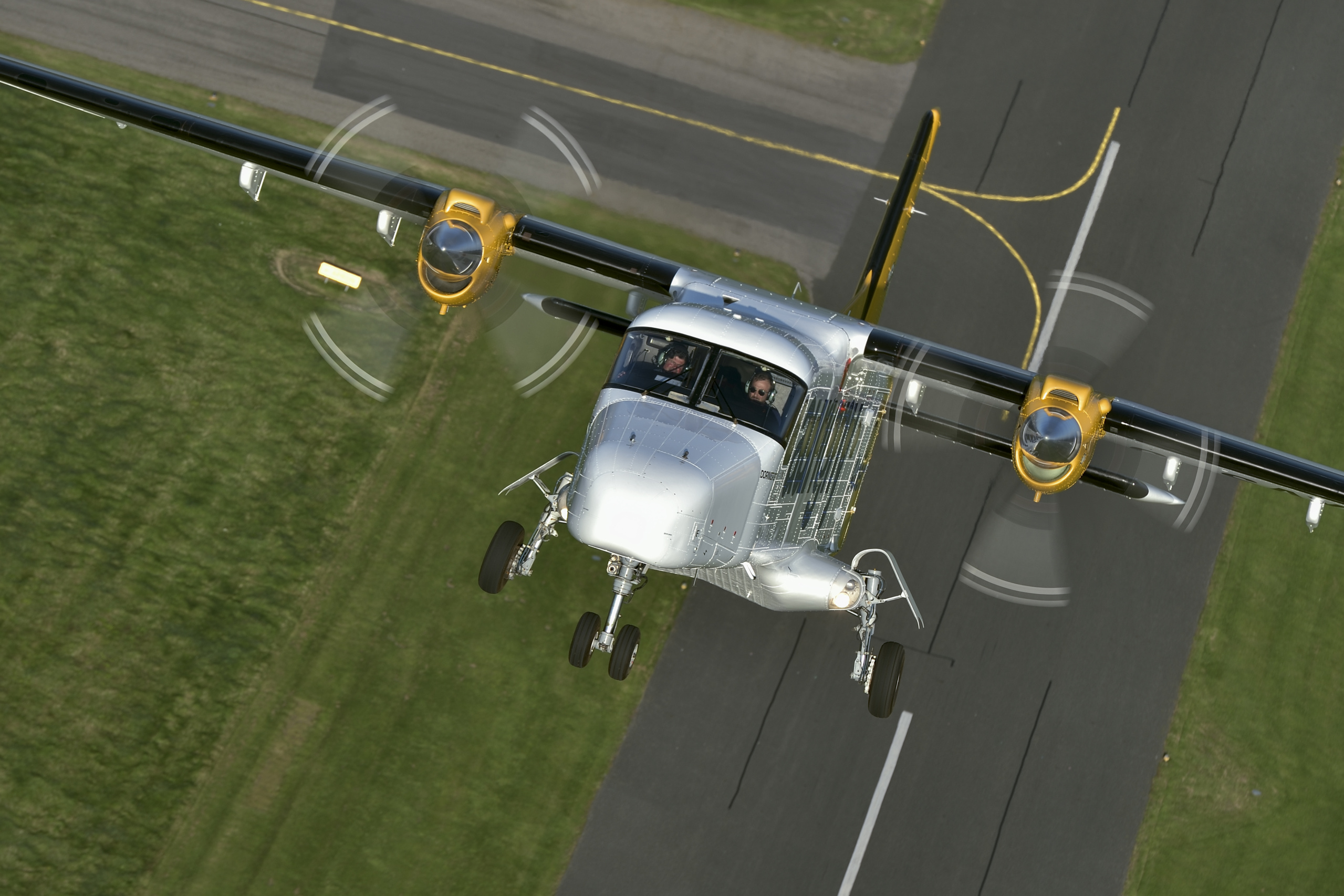 Aurigny Dornier 228 take-off