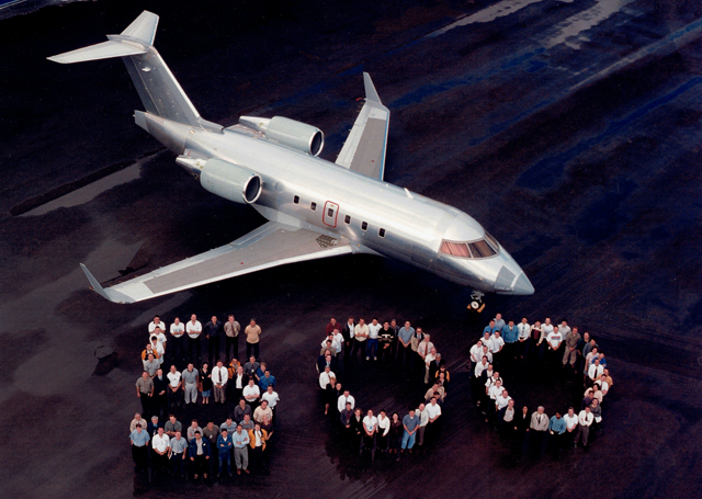 Challenger 604 500th