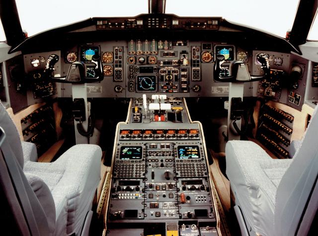 Challenger cockpit