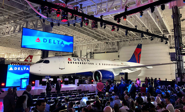 Delta A220 Delivery