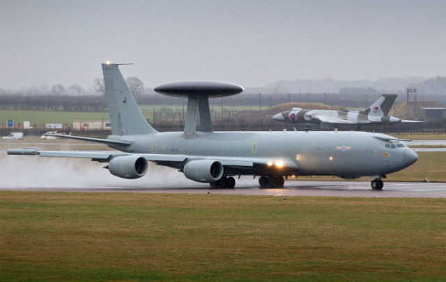 E-3D Sentry - Crown Copyright