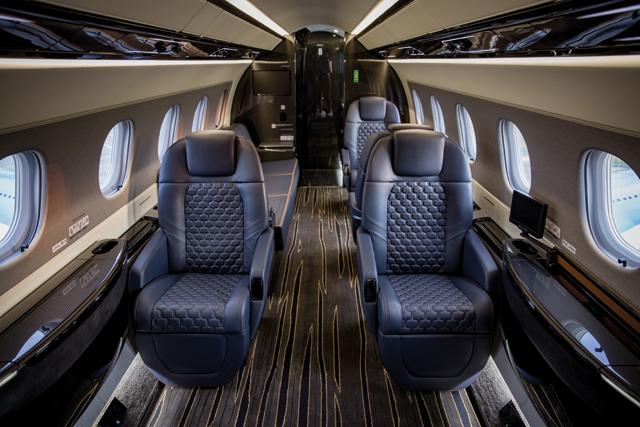 Embraer Praetor interior