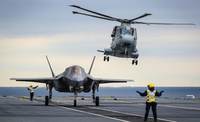 F-35B Merlin - Crown Copyright