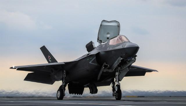 F-35B SRVL - Crown Copyright
