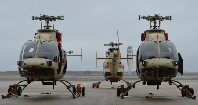 Iraq Bell 407s - US Army