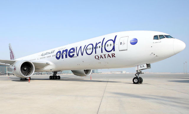Qatar Oneworld - Qatar Airways