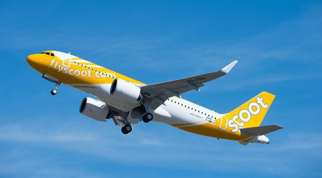 Scoot A320neo - Source: Airbus