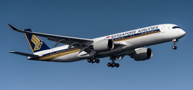 SIA A350-900ULR