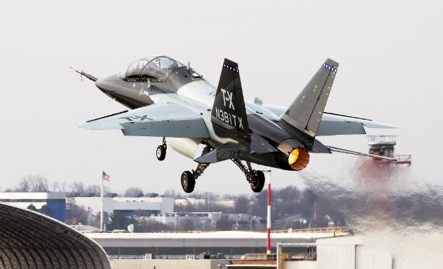 T-X debut - Boeing