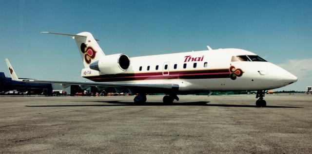 Thai Airways Challenger 601