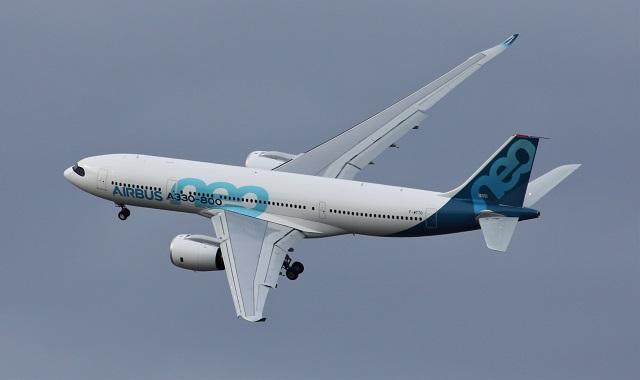 A330-800 first flight landing 1
