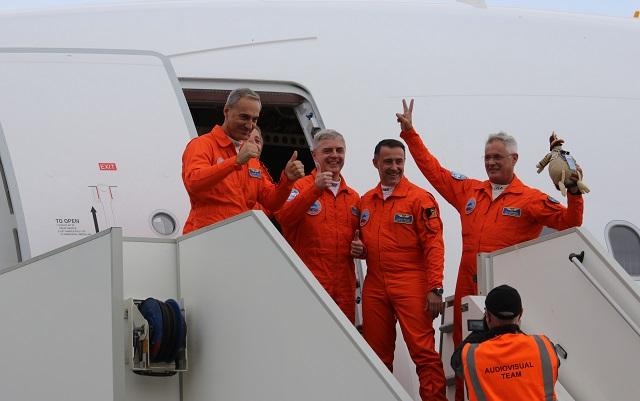 A330-800 first flight landing 3