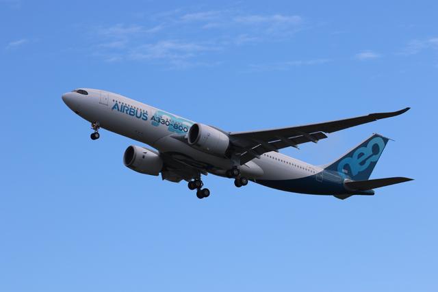 A330-800 maiden