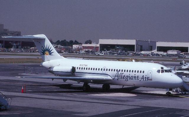 Allegiant DC-9 Credit: Michael Carter/Airliners.ne