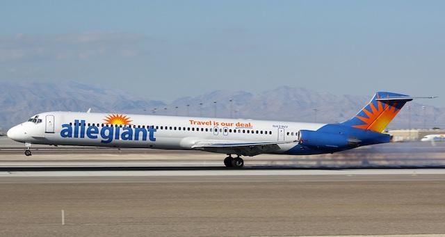 Allegiant MD-80 Credit: James Mellon