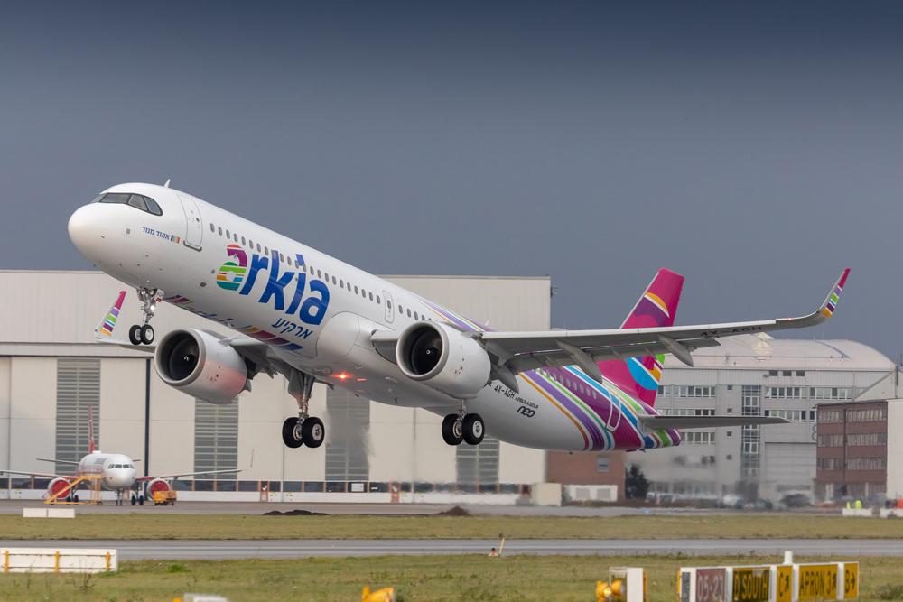 Arkia A321LR - Hamburg