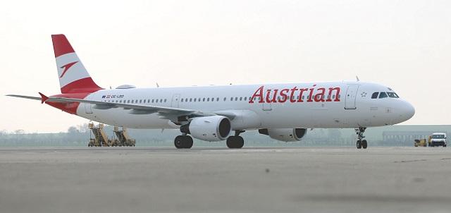 Austrian A321 rebrand