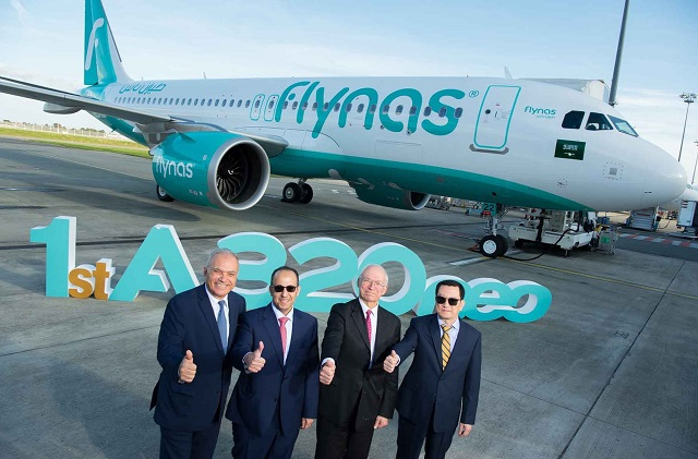Flynas Airbus A320neo 1