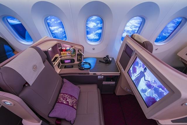 juneyao 787 biz class