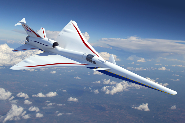 Lockheed Martin X-59 Quiet Supersonic Technology t