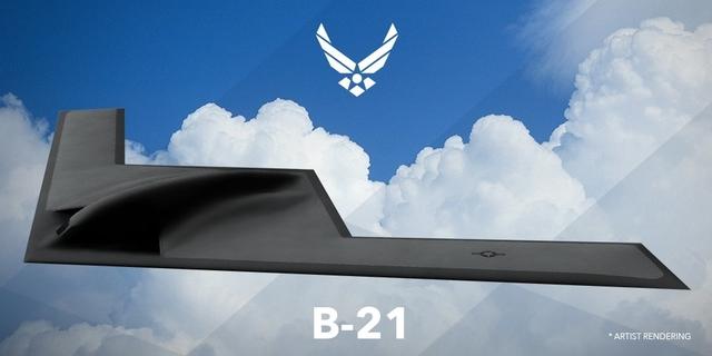Northrop Grumman B-21 Raider rendering